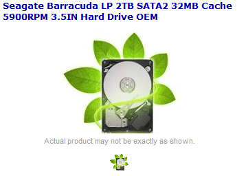 (Supposed) Seagate Barracuda product shot