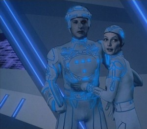 Scene from Tron (1982)