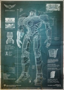 Pacific Rim Jaeger blueprint